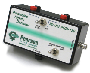 New Powerline Ripple Detector ideal for MIL-STD-461 CS101 Tests